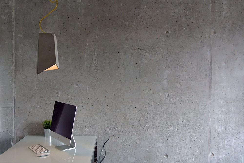 Lampy betonowe od imindesign
